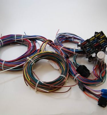 sb ford 289 302 hei distributor 50k volt coil rpc racing power universal 12 circuit wire harness kit