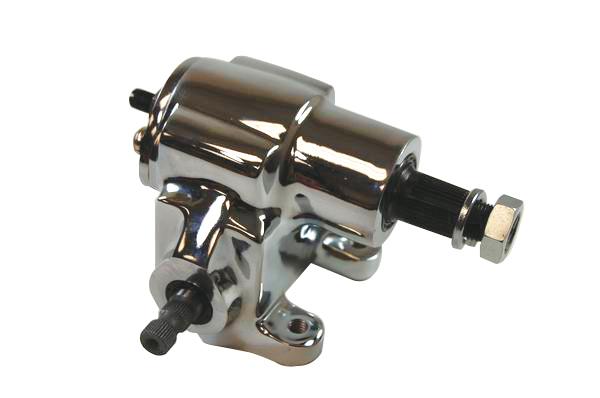 Gm saginaw 140 (vega) manual steering box chrome – Racing