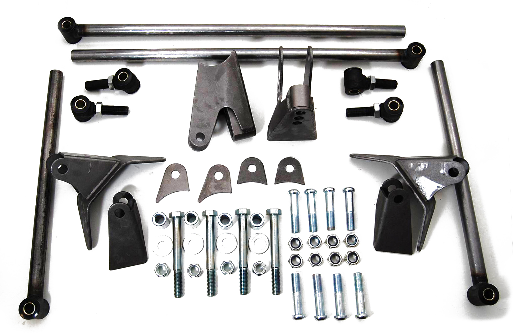 1932 ford triangulated 4-link kit – plain steel – Racing