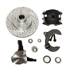 Mustang ii brake kit stock height