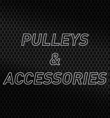 Pulleys & Accessories