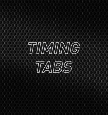 Timing Tabs
