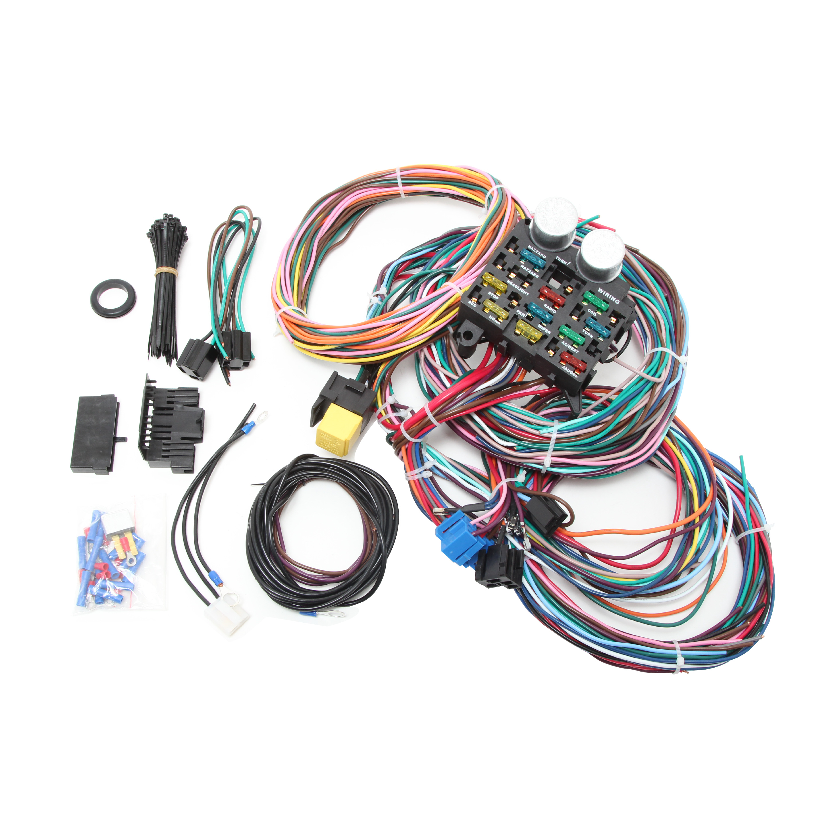 universal 14 circuit wire harness kit – racing power company rpc wire harness #4