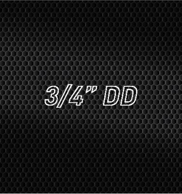 "3/4"" DD"