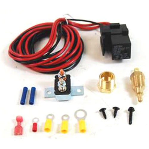 [GJFJ_338]  Electric Fan Wiring Harness and Relay Kit 185° On/170° Off – Racing Power  Company | Rpc Wire Harness |  | Racing Power Company