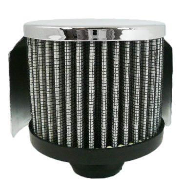 Racing Power Company R6000 Polished Aluminum Plain PCV Breather