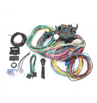universal 24 circuit wire harness kit