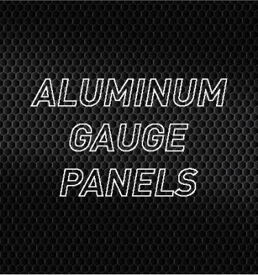 Aluminum Gauge Panels